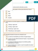 Evaluación Sociales 4 U5