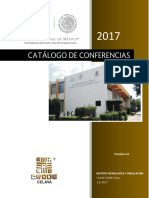 Catalogo 2017 Conferencias OK