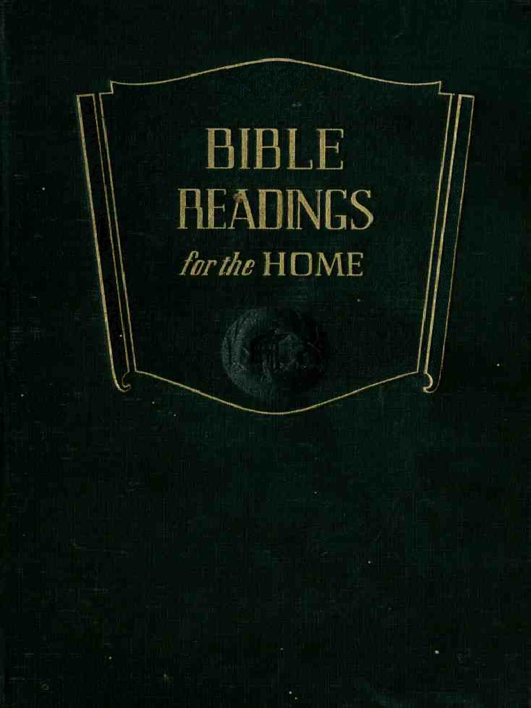bef32168e Bible Readings for the Home (1949) Pacific Press