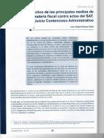 Scan Artículo Defensa Fiscal