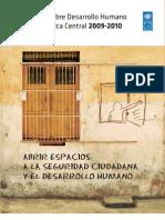 Informe de Desarrollo Humano - América Central - 2009-2010