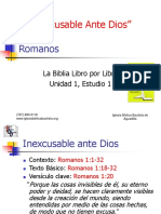 1 Inexcusable Ante Dios