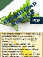 ESTABILIDAD PUBLICAvane diapositiva