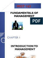 Chap. 1 - Introduction to Management (1)