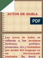 Actos de Habla y Actos Locutivos Ilocutivos y Perlocutivos