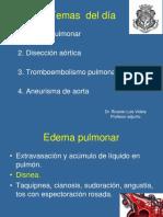 2017. Edema, TEP, Disección, Aneurisma. Cuarto Año