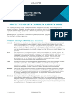 Protective Security Capability Maturity Model