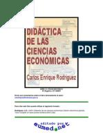 Didctica de Las Ciencias Econmicas