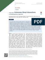Cardio Pulmo Renal Interactions 2015