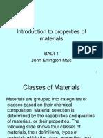 Material Properties 1