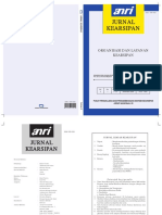 Jurnal Kearsipan ANRI Vol 3, Th.2008