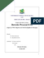 Dossier Código Procesal Civil 2018