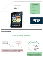 Marketing Mix en iPad
