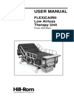 Hill-Rom Flexicair - User Manual