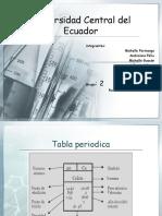 Expocicion de La Tabla Periodica