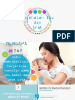 Pemberdayaan Keluarga - Program Kesehatan Ibu dan Anak