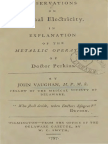 Observations on Animal Electricity (1797) by John Vaughan