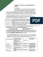 Tema 1. Origen Del Léxico Castellano