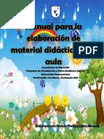 Manual Para La Elaboración de Material Didáctico en El Aula