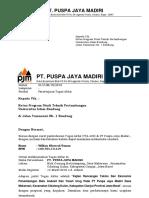Surat Balasan Ta Pt.pjm