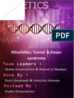 01-Klinefelter, Turner & Down Syndrome 3(1st Edition)