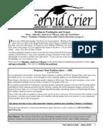 Apr 2004 Corvid Crier Newsletter Eastside Audubon Society