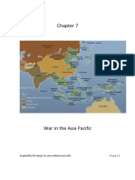 Chapter 7 War in Asia Pac