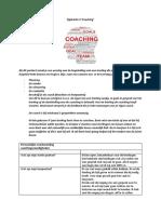 portfolio in te leveren opdracht 4 coaching opdracht