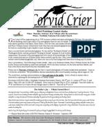 Feb 2005 Corvid Crier Newsletter Eastside Audubon Society