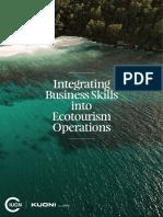 Ecotourism Business Skills