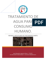 Reporte Planta Norte Chihuahua