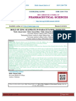 ROLE OF ZINC SULPHATE IN PARACETAMOL TOXICITY