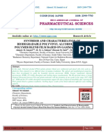 SYNTHESIS AND CHARACTERIZATION OF BIODEGRADABLE POLYVINYL ALCOHOL/ GELATIN POLYMER BLEND FILM BASED ON GAMMA RADIATION