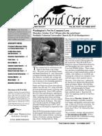 Oct 2007 Corvid Crier Newsletter Eastside Audubon Society