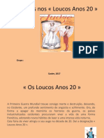 As mulheres nos « Loucos Anos 20 ».ppt
