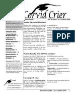 July-Aug 2007 Corvid Crier Newsletter Eastside Audubon Society