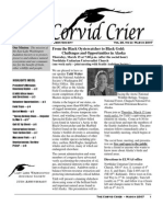 Mar 2007 Corvid Crier Newsletter Eastside Audubon Society