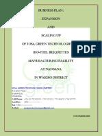 Josa Green Fuel Technologies Business Plan 20th May 2018