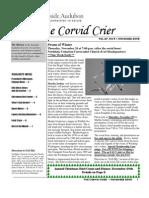 Nov 2008 Corvid Crier Newsletter Eastside Audubon Society