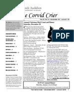 Dec 2008 Corvid Crier Newsletter Eastside Audubon Society