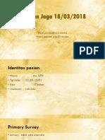 180318  open pneumothorax sinistra & vulnus punctum scapula sinistra.pptx