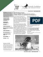 Sept 2008 Corvid Crier Newsletter Eastside Audubon Society