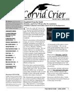 Apr 2008 Corvid Crier Newsletter Eastside Audubon Society