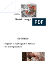 Gastric Lavage