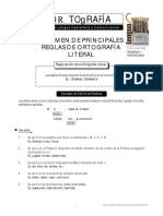 Guía de Materia Ortografía Literal