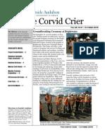 Oct 2009 Corvid Crier Newsletter Eastside Audubon Society