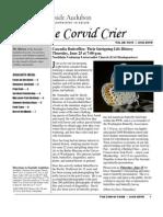 June 2009 Corvid Crier Newsletter Eastside Audubon Society