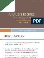 Analisis Regresi Mmt-1