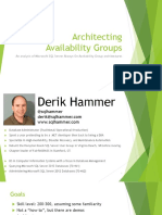 Architecting Availability Groups