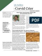 June 2010 Corvid Crier Newsletter Eastside Audubon Society